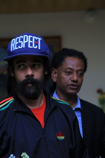 welcoming Damian Marley to Ethiopia 2017
