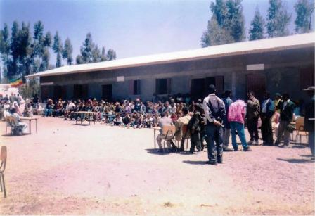 One love Africa school Visit at Wonchi western Ethiopia .2006